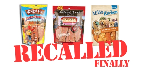 Chicken Jerky Recall 2013: Waggin\' Train, Canyon Creek, Milo\'s ...